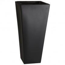 Pflanzkübel Fiberglas schwarz